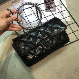 01 Qualité de l'embrayage en cuir épaule Véritable sac à main sac à main sac à main de la femme à l'intérieur de la série High Number Serial 5883 made tifo