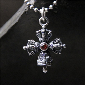 925 Sterling Silver Soldier Hot Sale Popular New 2019 Antique Silver Vajra pestle Pendant Can Bring Lucky For Man 24*31MM 7.30G