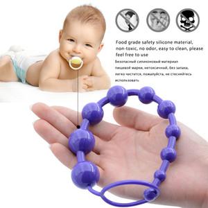 Sex Anal-Spielwaren für Frauen Anal Beads Butt Plug-Zerhacker mit Pull-Ring 10 Perlen Dildo Anal Vibrator Perlen erwachsene Geschlechts-Produkte
