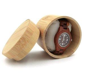 Watch Case Bamboo Wristwatch Box Storage Travel PouchWatch storage watch box jewelry display stand SN2257