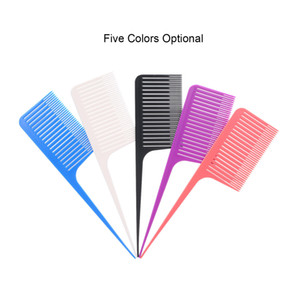 Hair Brush Teasing Comb Rat-Tail Hair Comb for Salon Hairbrush Anti-Static Pintail Comb for Hairdressing Barber Accessories