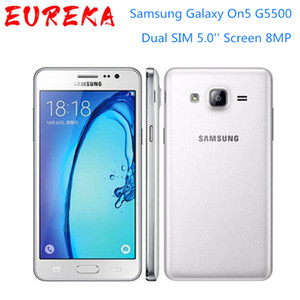 Original Unlocked Samsung Galaxy On5 G5500 4G LTE Android Mobile Phone Dual SIM 5.0'' Screen 8MP Quad Core Good selling