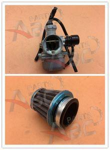 19 millimetri carburatore PZ19 mano Soffocare W / aria Filtro 50cc 110cc ATV UTV motore Carb pEew #