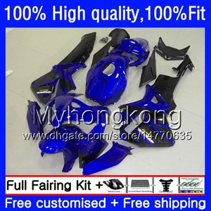 100%Fit OEM For HONDA CBR600RR CBR600 RR CBR600F5 600CC 48HM.97 CBR 600 CC RR F5 05 06 CBR 600RR Dark blue blk 2005 2006 Injection Fairings