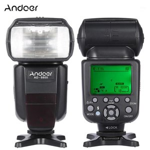Andoer AD-980II E-TTL HSS 1 8000s Master Slave GN58 Flash Speedlite for 5D Mark III 5D Mark II 6D 5D DSLR Camera1
