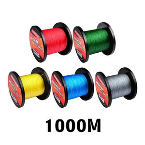 1000m brand proberos super strong japanese pe braided fishing lines 5colors 10lb~100lb 4 strand braid spectra line leave a message for