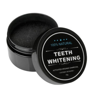 Factory price! Teeth Cleaning Whitening Power Activated Organic Charcoal Powder Beautiful Smile Teeth Tooth Whitening Black Loose Powder 30g