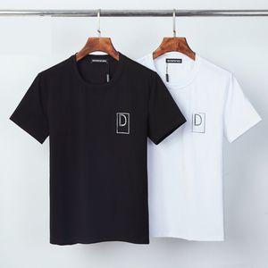 DSQ PHANTOM TURTLE 2021SS New Mens Designer T shirt Paris fashion Tshirts Summer Pattern T-shirt Male Top Quality 100% Cotton Top 1241