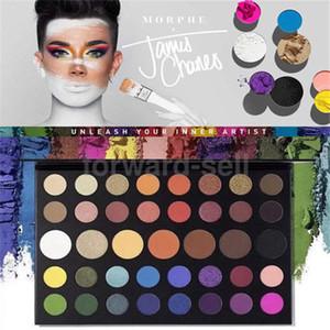 2020 العلامة التجارية Morpheس جيمس تشارلز لوحة ظلال ماكياج 39 الألوان عينيه الفنان الداخلية عينيه Pallete جودة عالية الصحائف