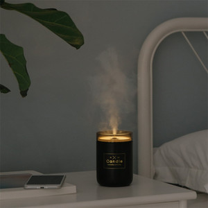 Diffuser Air Humidifier Aroma Essential Oil USB Household Mini Cute Solid Color Lamp Sleep Purifier Simplicity Diffusers New Arrival 34ld K2