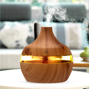 Household Humidifier 300ML Aroma Essential Oil Diffuser Ultrasonic Air Humidifier Grain Home Decoration Colorful Glow New Arrival 13 6bh K2