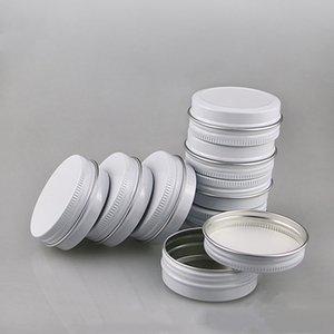 100pcs lot 15G Empty Cosmetic Makeup Maquillaje Face Cream Batom Base Lip Balm Gloss Mask Metal Aluminum Tin Containers