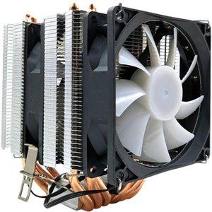 XUEYUFENGSHEN CPU Cooler 6 de cobre puro de la pipa de calor Torre de refrigeración Sistema de refrigeración de la CPU ventilador del radiador para LGA1150 / 1155/1156