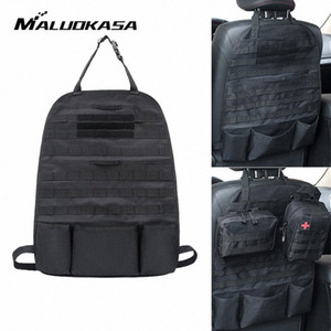 MALUOKASA Universal-Auto-Sitz Back Bag Tactical Molle Autositz-Organisator-Speicher Nylon Organizer-Schutz-Zubehör XIKM #
