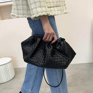 Women Simple Dumplings Handbag Designer Fashion Cloud Female Crossbody Shoulder Bag Tide Messenger Bag Clutch
