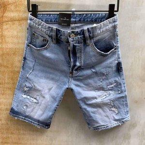 Dsenqi Nouveaux Hommes Jeans pour Short Jeans Pants Outwear Man 20651