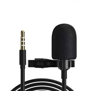 Lavalier Microphone USB C Type C For Samsung Huawei Xiaomi Oneplus Condenser Studio Professional Live Stream Wired Lapel Mini with pacakge