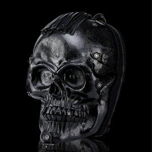 Personality neuer dreidimensionaler Knochenschädel Rucksack Mode Multi-Funktions-Outdoor-Rucksack