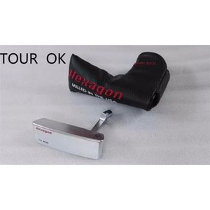 New Hexagon TourOK Golf putter with headcover Clubs Heads Free Shipping 201026