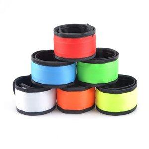 LED Gece Koşu Bilezik Gece Açık Spor Bilezik Aydınlık Parti Süslemeleri 35 * 4 cm LED Pat Yüzük 7 Renk Çocuk Oyuncak PPD3320