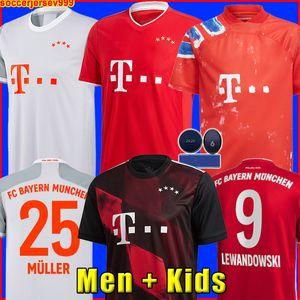 Bayern Munich 20 21 LEWANDOWSKI SANE X PHARRELL HUMANRACE HRFC soccer jersey COMAN MULLER GNABRY football shirt Men Kids MUNCHEN fourth 4th