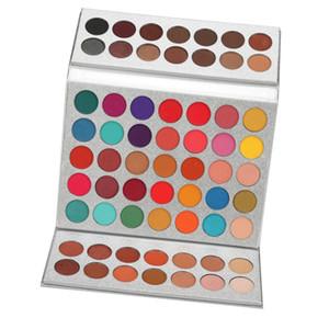 Gliltter Eyeshadow Palette Matte Eye Shadow Pallete Shimmer Shine Nude Make Up Palette Set Kit 63 Colors beauty cosmeticsRabin