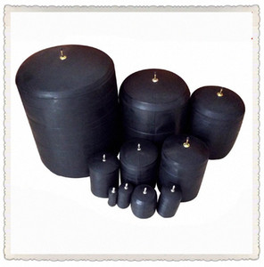 Closed water and water shutoff DN50 plugging airbag Pipeline plugging Pipe sealing test bladder Rubber pressure ball Wqkh#
