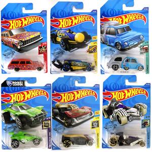 Metal Nuevo 72 Estilo de las ruedas 1:64 Regalo de cumpleaños de los juguetes del niño caliente original para niños Diecast Hotwheels Mini modelo de carreras BRINQUEDOS