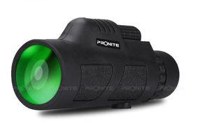 PRONITE Открытого альпинизма высокого списка визуальных глаза 12x50 фокусировки путешествия монокуляра сумерек высокой мощности однообъективный monocula HJ-02156