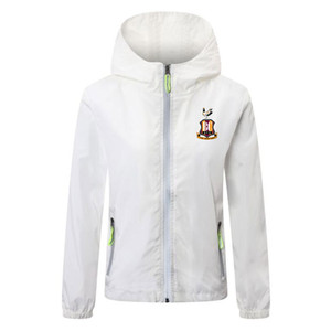 2020 2021 bradford city soccer jacket zipper Windbreaker soccer jerseys soccer windbreaker hoodie Lichtgevende jacket coat Running Jackets