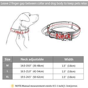 Taktischer Hundekragen mit Griff dauerhafter militärischer Nylon-Hundehalsband einstellbarer Trainingskragen für große Hunde K9 Deutsch Bbyapi