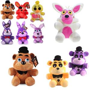 Five Nights Teddy Bear's Midnight Harem Bear Peluche Giocattolo cinque notti a Freddy's 18 cm Golden Freddy Fazbear Mangle Foxy Bear Bonnie Chica