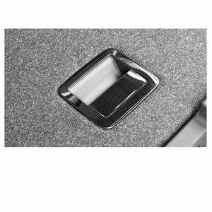 Lsrtw2017 Pour Vw T Roc coffre de voiture poignée commutateur cadre intérieur Accessoires Chrome Trims 2018 2019 2020 EF18 #