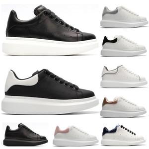 2020 أحذية جديدة للنساء الرجال أزياء جلدية رياضية 3 متر عاكس الأسود المخملية سميكة سوليد شقة ارتفاع زيادة عارضة الأحذية 36-45
