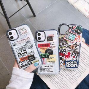 caja del teléfono móvil DHL 100pcs es adecuado para iPhone12 anti-gota de concha blanda iPhone 11 promax iPhone 12 caso