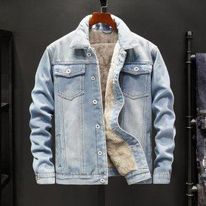 NEW 2020 veste hommes veste en jean de vêtements minces et épais manteaux très chaud hiver outwear cow-boy mâle M-5XL