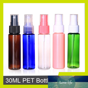 부지 30ML Automizer와 병 고품질의 PET 병은 뚜껑 스프레이 플라스틱 리필 병 JX127 비우기 스프레이 Sedorate 100 PC를 /