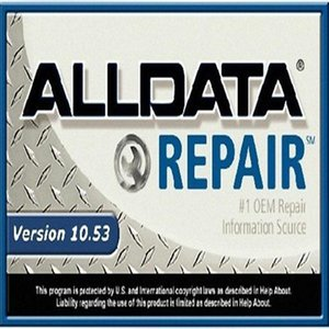 Top new alldata 10.53v auto repair software all data fit for win7 8 xp in 640gb hdd support remote install