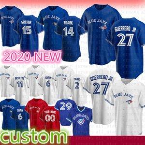 Toronto Custom 27 Vladimir Guerrero Jr. 11 Джордж Бейсбол Джерси 29 Джо Картер 12 Роберто Аломар 14 Джастин Smoak 47 Джек Моррис Мартин