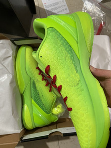 2021 Grinch 6 Del Sol Casual Chaussures Pas cher Magasin de rabais avec boîte Hot Good Basketball Shoes Outlet