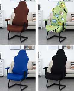 Elastic Office Chair Cover Dust-proof One-Piece Competition Silla Gaming Chair Covers Armchair Seat Covers for Computer Home Use
