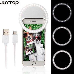36 LED Tragbare Wiederaufladbare Fotografie Blitzlicht up Selfie Leuchtelampe Telefon Ring Light Night Video1