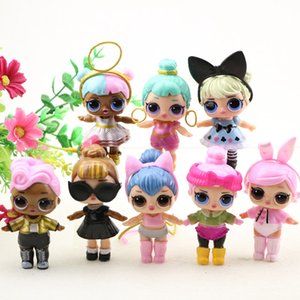8-9cm LOL ALL series Dolls Boneca Little Dress Egg Drink Water Glitter baby DOLL Anime Brinquedos Figure Toys For Kids Gifts