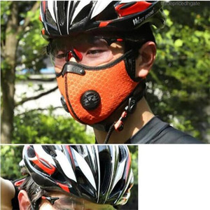 Anti-Verschmutzung Laufen Hot Cycling Verkauf Maske Carbon-Training Mit Staub Sport Gesicht PM2.5 Wiederverwendbare Road Bike Mtb aktiviert Anti-Verschmutzung Lgck