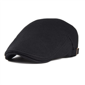 Sboy القبعات voboom عارضة القطن الأيرلندية كاب غولف اللبلاب جيف قبعات الرجال النساء cabbie سائق gatsby قبعة قابل للتعديل boina 039