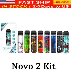 Novo 2 Pod Kit sigaretta Built-in 800mAh batteria 2ml Vape Pod cartucce con indicatore LED migliorata