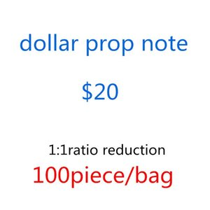 Most Realistic Children's Adult Money 20 Dollar Pound Euro Bar Bags- Game Designers Prop Props Toys Movie Game Stage Money Fake Special Moet