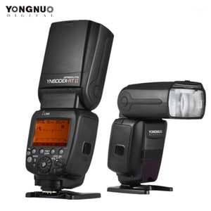YONGNUO YN600EX-RT II Flash Speedlite 2.4G Wireless HSS 1 8000s MasterL Speedlight for DSLR Whit YN-E3-RT II Trigger1