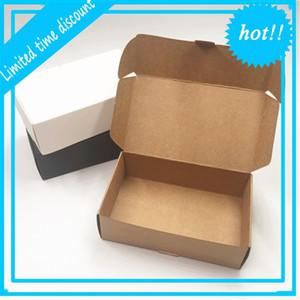 12 punti / batch Craft Kraft Scatola di carta Sposa Sposa Small Venom Caramelle Bomboniere Box Packaging per lo stoccaggio sapone fatto a mano