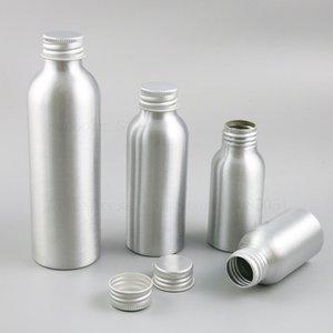 24 X 1 Unze 4 Unzen 5 Unzen Aluminium Creme Makeup Leere Flaschen 30ml 50ml 100ml 120ml 150ml 250ml Aluminiumbehälter